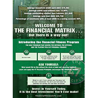 Financial Matrix Customer Flyer (Pack of 25)