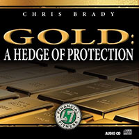 Gold: A Hedge of Protection by Chris Brady (Sleeve)