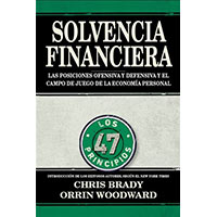 Financial Fitness Book by Chris Brady and Orrin Woodward (Spanish version)